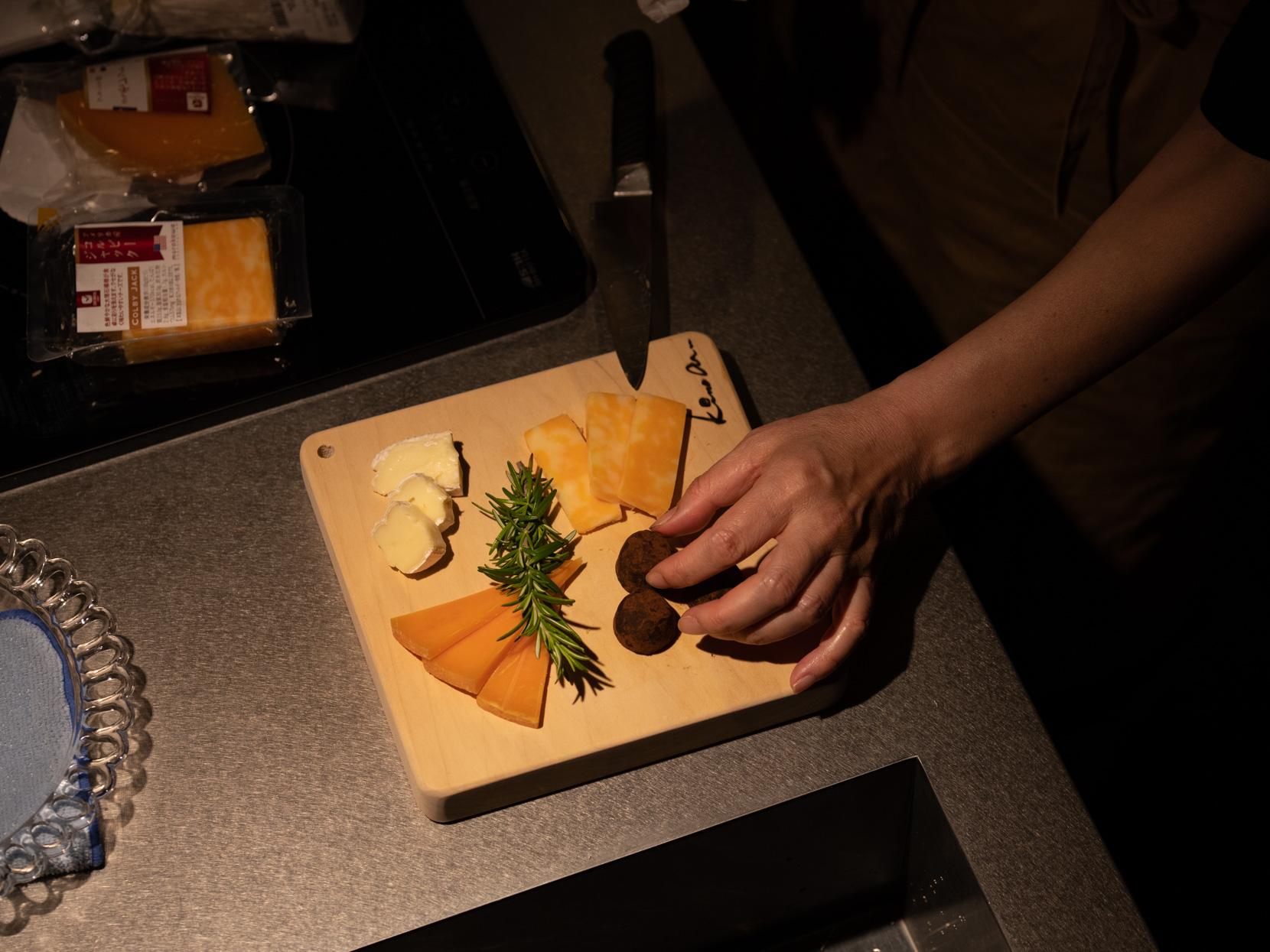 ワインに合わせるチーズ